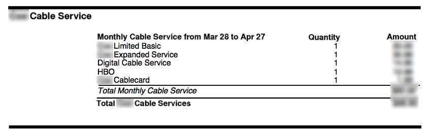 Cut Cable TV Bill