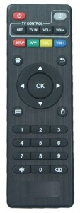 TICTID MXQ Android TV Box Remote Control