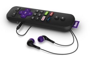 Roku Ultra Remote w/ Headphones