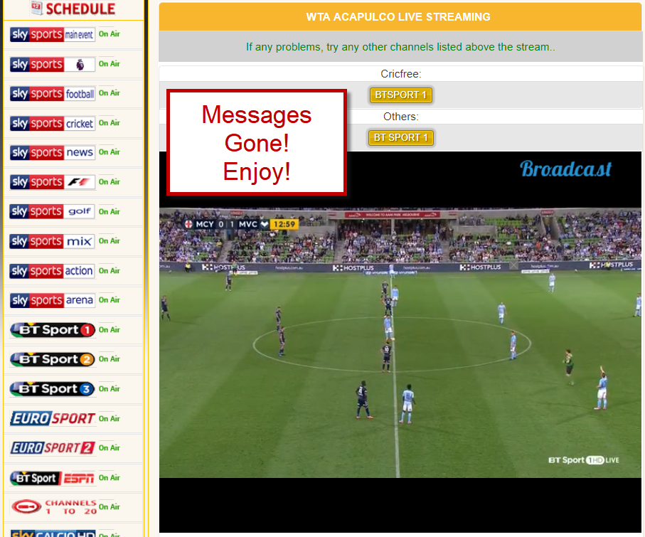 best website to stream live football for free